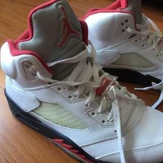 Nike Air Jordan 5代 Retro 經典流川楓著用款 10.5號 盒裝