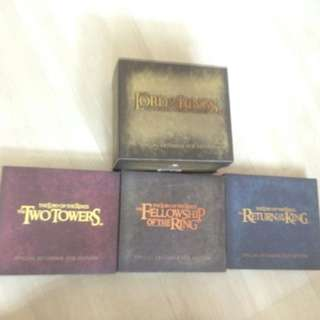 LOTR Extended Special VCD Collection