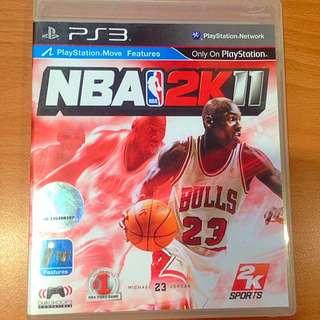 PS3 NBA2K11遊戲片