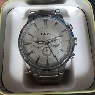 Fossil 經典石英三眼錶 FS4359 全新盒裝未使用