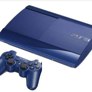 Limited Edition Azurite Ps3