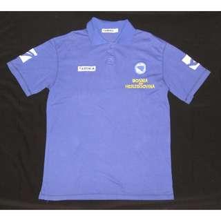 Football Federation of Bosnia and Herzegovina Polo Shirt, Size M