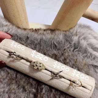 韓國飾品 造型戒指