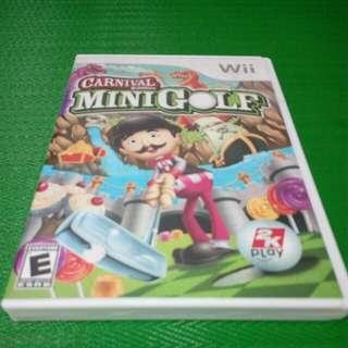 Carnival Minigolf Games For Wii