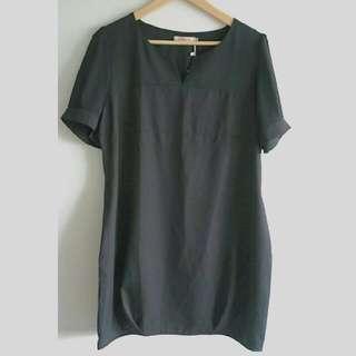[BN] Plus Size Chiffon Sleeve Dress