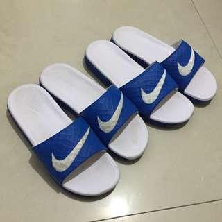Nike藍白拖