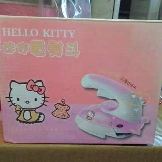 Hello kitty 迷你電熨斗