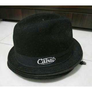 CABAL街頭品牌羊毛紳士帽