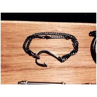 ✦✦ HandBox ❧  ✦✦ 歐美款魚鉤造型鋼鍊 男款
