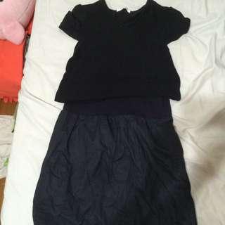 兩件式連身裙