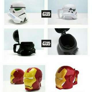 Starwars Mug! Ironman Mug!