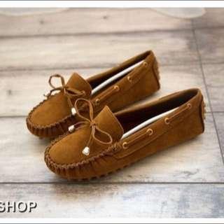 全新牛津豆豆鞋(38號)