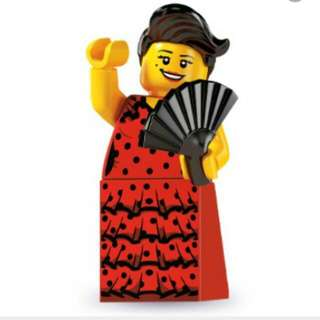 Lego Minifigures Series 6 - Flamenco Dancer