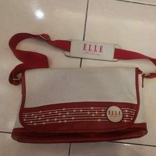 降價💰ELLE 紅色側背包