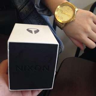 NIXON 金錶 日本購入 保固2年