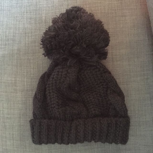 保暖大球黑色毛帽(待匯款