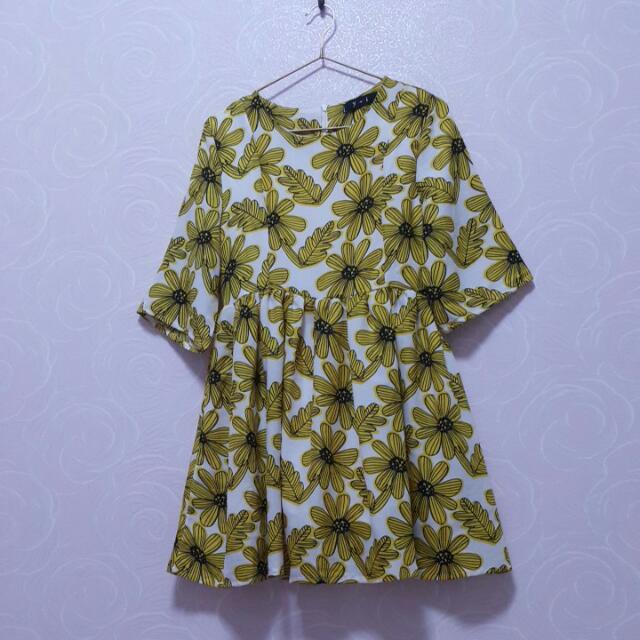 太陽花洋裝