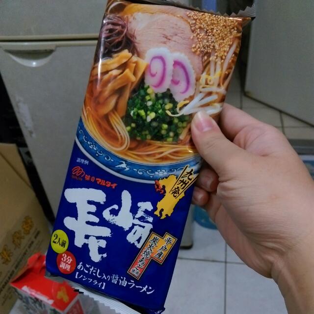 長崎飛魚醬油風味拉麵