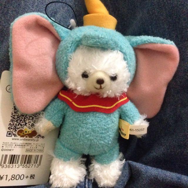 日本迪士尼小飛象大學熊