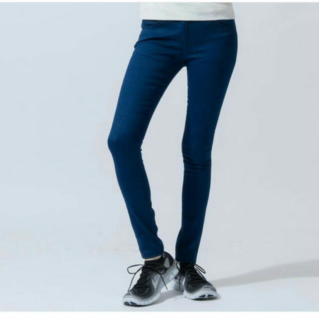 售 / iohll 藍色 彈性牛仔褲 (3號 L)