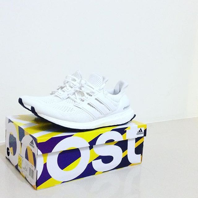 Adidas Ultra Boost 全白 UK9