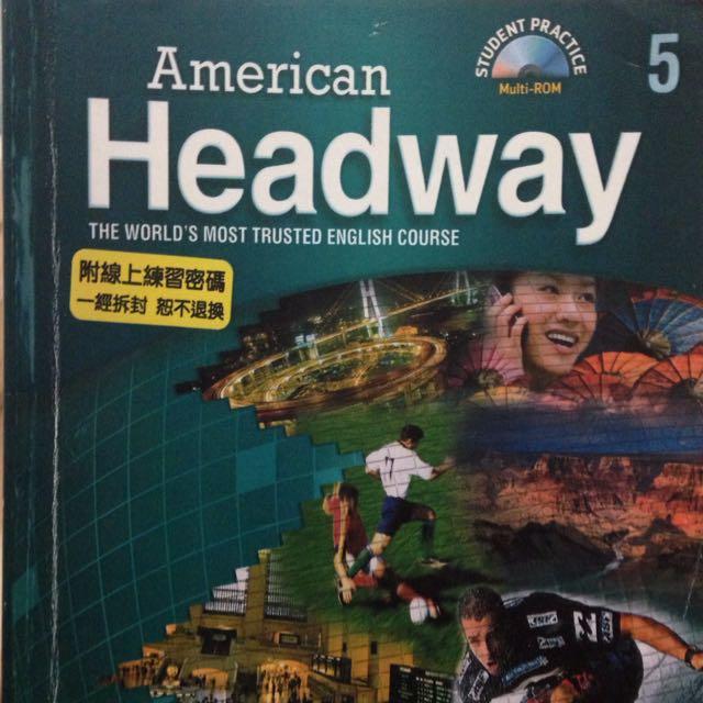 American Headway便宜賣 二手 英文書籍