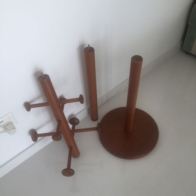 Coat Rack -3 Piece Dismantled. MUST SELL LEAVING SINGAPORE