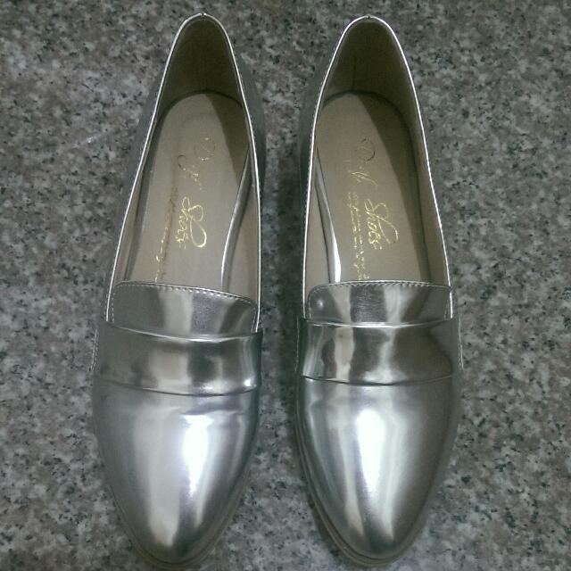 D+af 真皮尖頭鞋