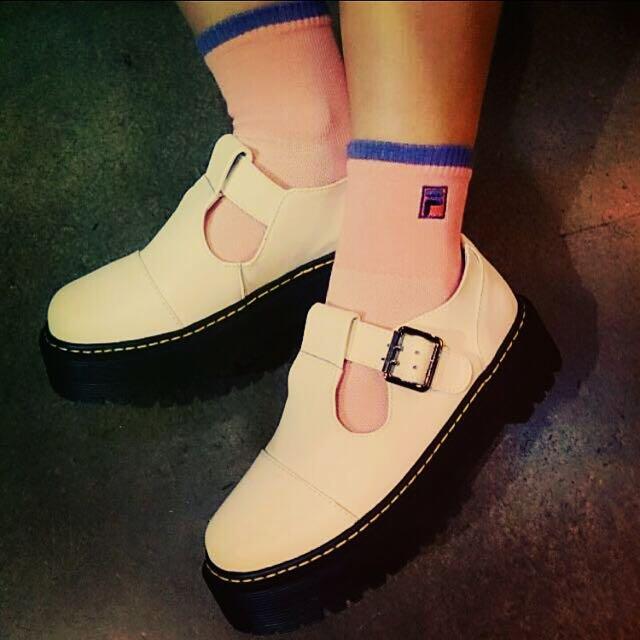 FILA 全新襪子pink