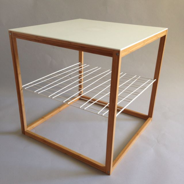 Ikea Ps 2012 Bamboo Frame Sidetable Furniture On Carousell