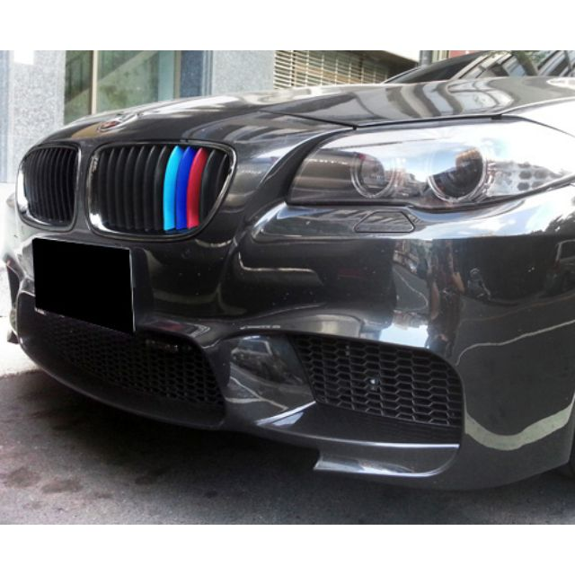 M Coloured Grille Stripes Abs Snap On Overlays For F10 F15 F30