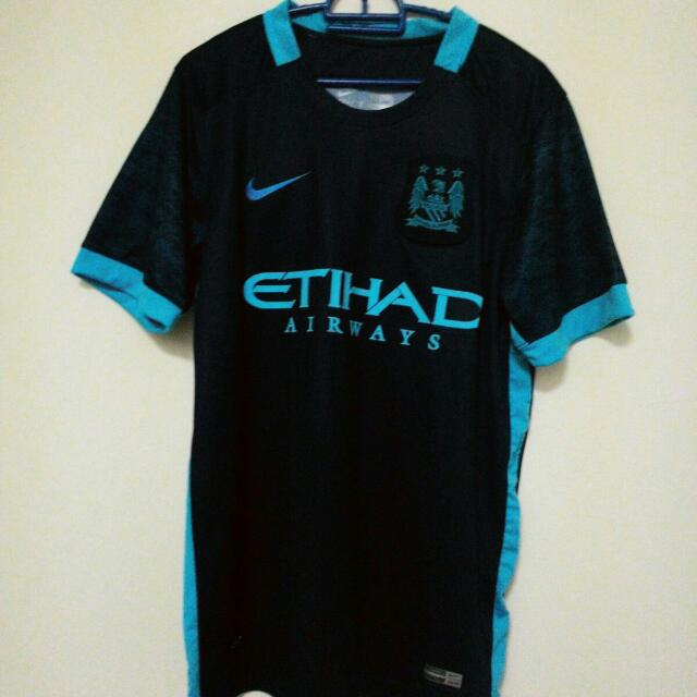 cheap for discount 3ebb9 5aebe Manchester City Away Kit 15/16