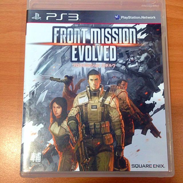 PS3 FRONT MISSION EVOLVED 雷霆任務進化遊戲片