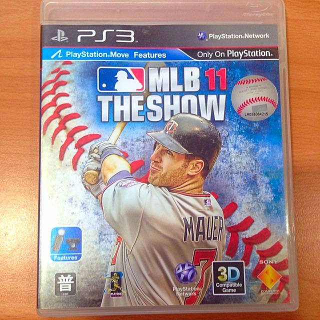 PS3 MLB11 THE SHOW 遊戲片