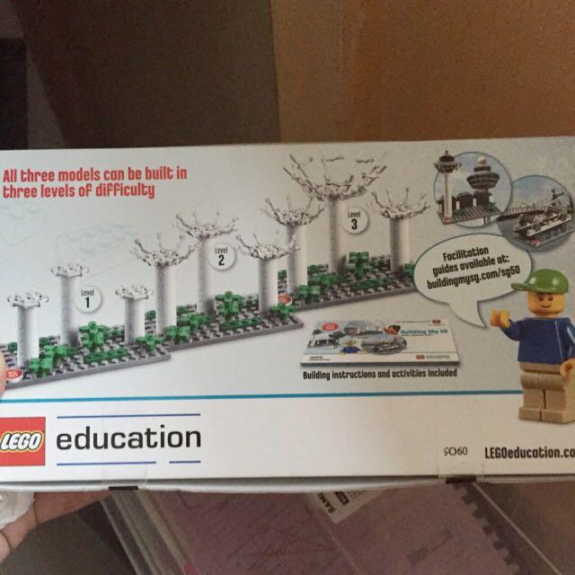 SG 50 LEGO SET (opened) (reserved)