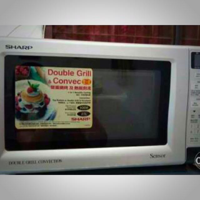 Sharp Double Grill Convention Microwave Oven