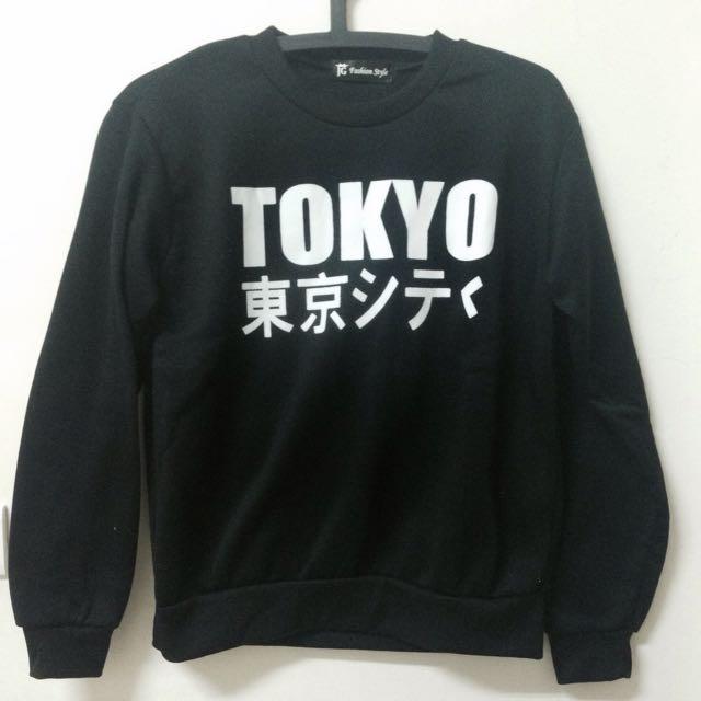 TOKYO東京 大學踢 衛衣 原宿