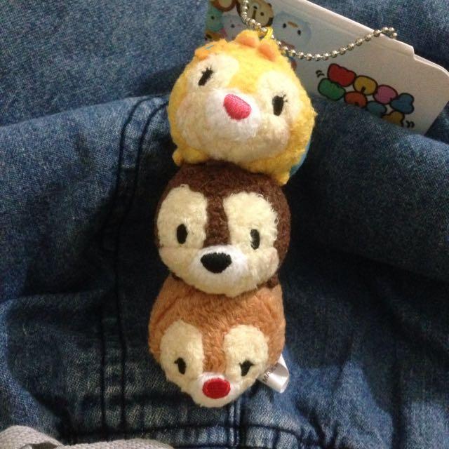 奇奇蒂蒂Tsum 娃娃掛飾