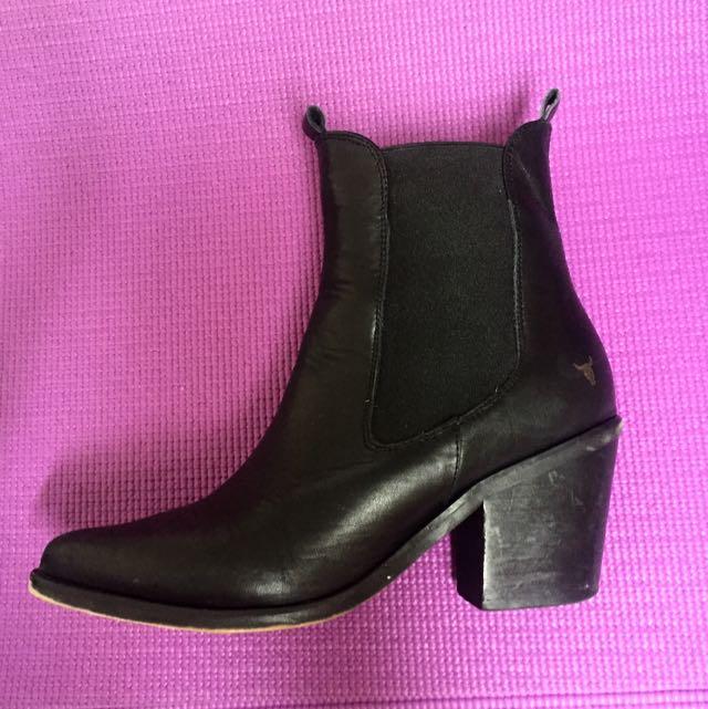 Windsorsmith Boots - Black