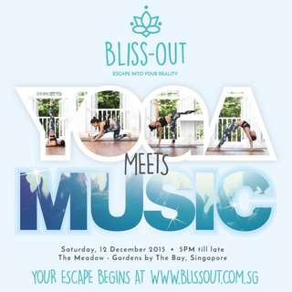 2 Bliss Out (Yoga + Concert) Tickets For Sale