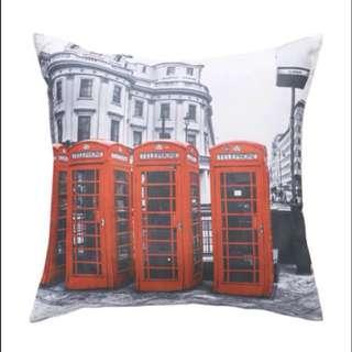 【 HedoneReport 4Deco. 1130 】LONDON Telephone Pillowcase