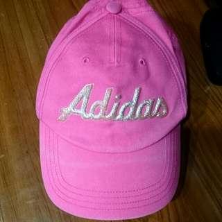 愛迪達 女童帽