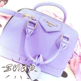 Samantha 粉紫色貝殼包