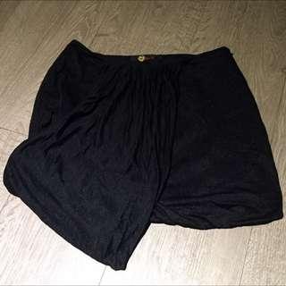 黑色金蔥短裙