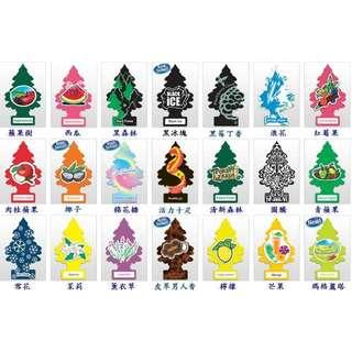 美國Little Trees ❤美國進口芳香吊飾 小樹香片 多款香味 ~