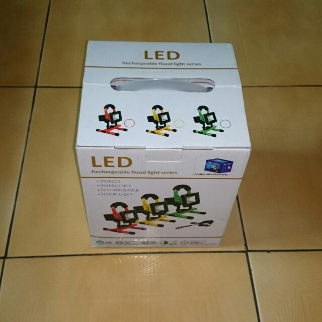 10瓦充電式LED工作燈