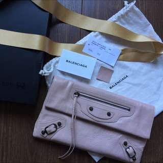 Balenciaga classic envelope clutch