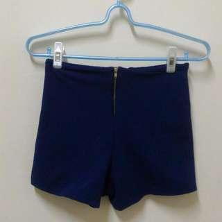 深藍色 短褲