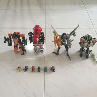 Engine Sentai Goongers + MagiKing