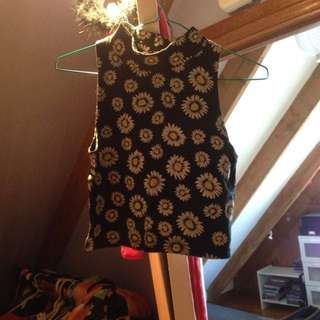Cropped Daisy Top